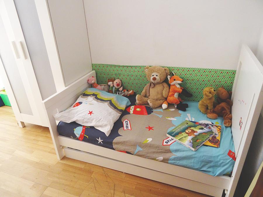 Le passage au lit de grand