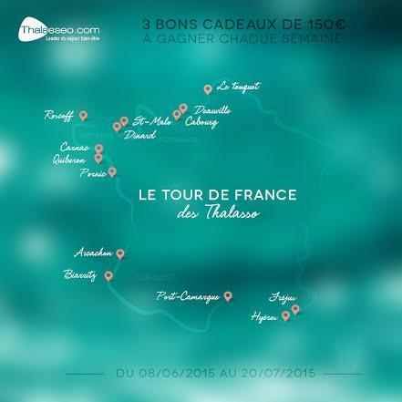 Le tour de France des Thalasso destination Pornic (concours)  Le tour de France des Thalasso destination Pornic (concours)