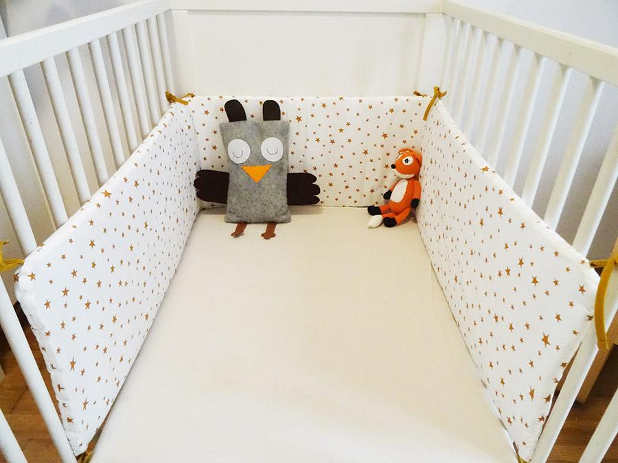 tour de lit b b fait maison avie home. Black Bedroom Furniture Sets. Home Design Ideas