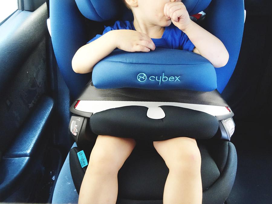 Notre siège auto Cybex Pallas de chez poussette.com