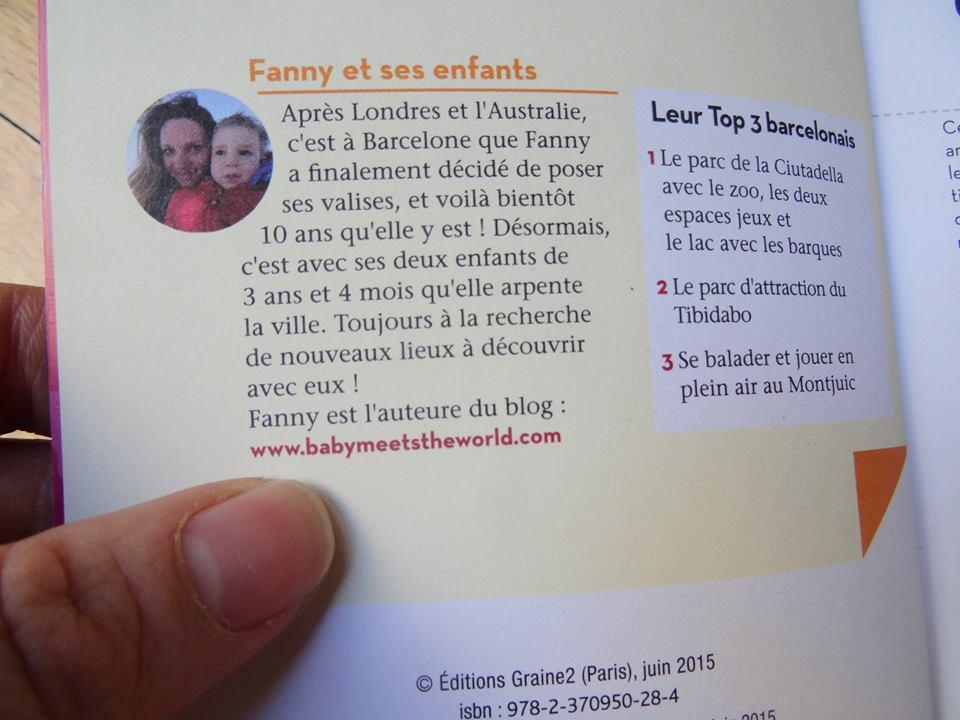 Barcelone en famille Éditions graine 2  Barcelone en famille Éditions graine 2