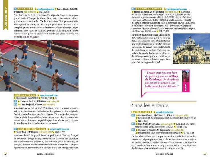 Barcelone en famille Éditions graine 2  Barcelone en famille Éditions graine 2  Barcelone en famille Éditions graine 2  Barcelone en famille Éditions graine 2