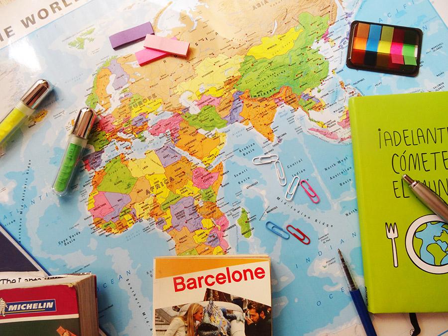 Voyage au bout du monde avec des petits, l'organisation !  Voyage au bout du monde avec des petits, l'organisation !