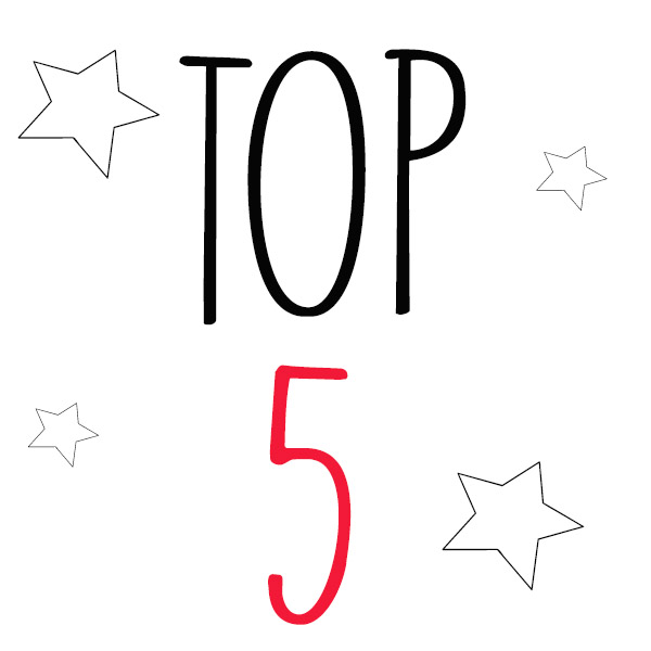 Mon top 5 puériculture (ou pas) avec deux enfants
