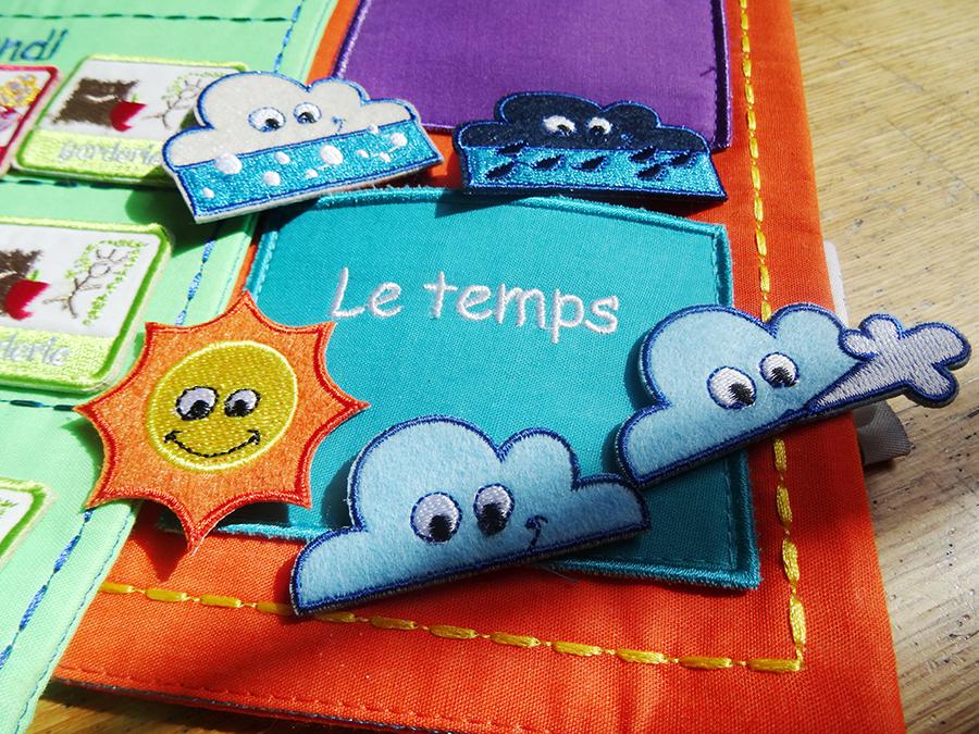 Le calendrier semainier Ludi  Le calendrier semainier Ludi  Le calendrier semainier Ludi  Le calendrier semainier Ludi
