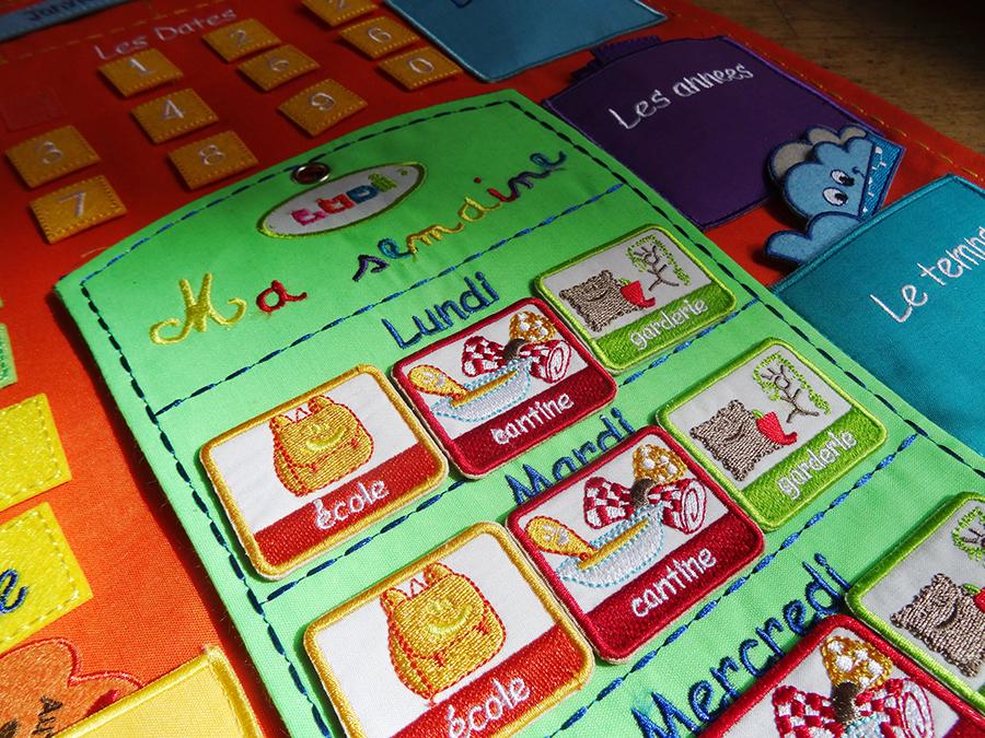 Le calendrier semainier Ludi  Le calendrier semainier Ludi  Le calendrier semainier Ludi  Le calendrier semainier Ludi  Le calendrier semainier Ludi  Le calendrier semainier Ludi