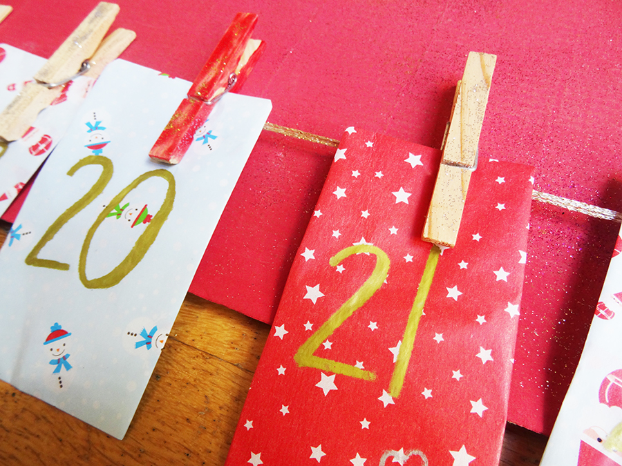 DIY : Le calendrier de l'avent simple et efficace !