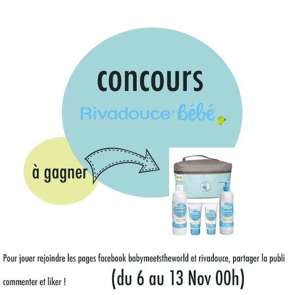 Les produits de toilette Rivadouce (concours)