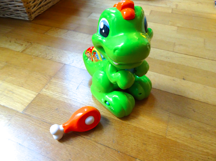 Idée cadeau : Baby T-rex de Clementoni