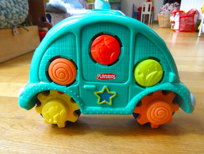 La poupée Louise et la voiture nomade Playskool