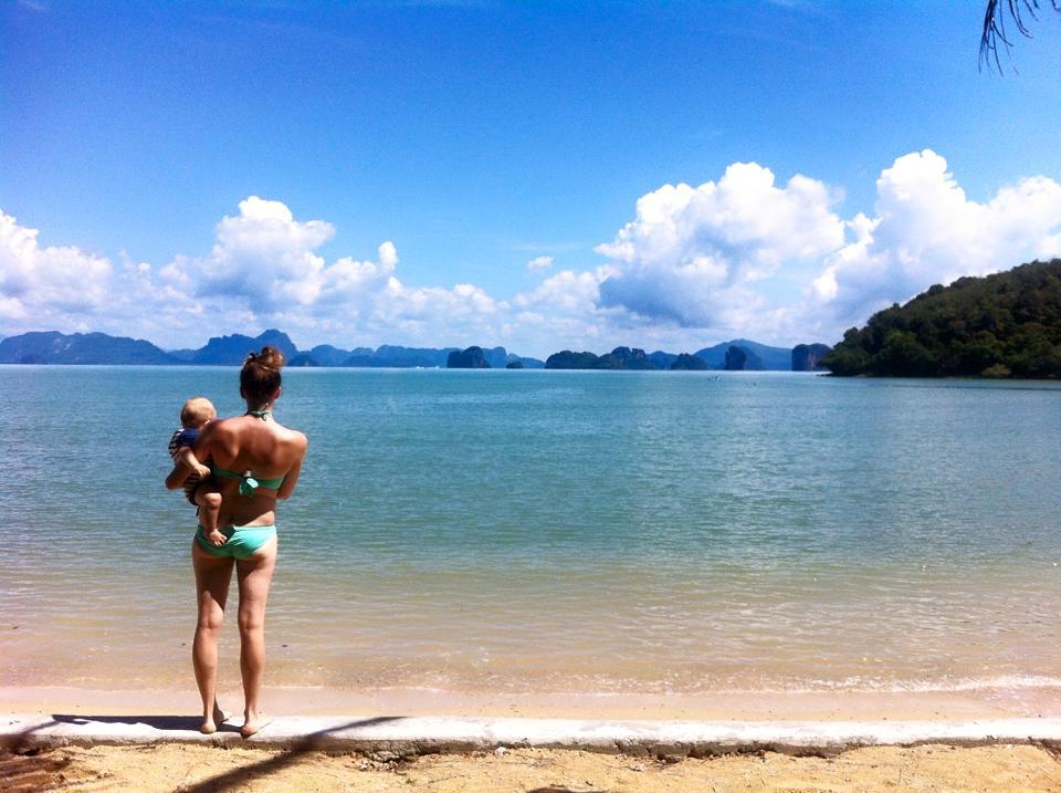 4 jours a Koh Yao Noi avec bébés