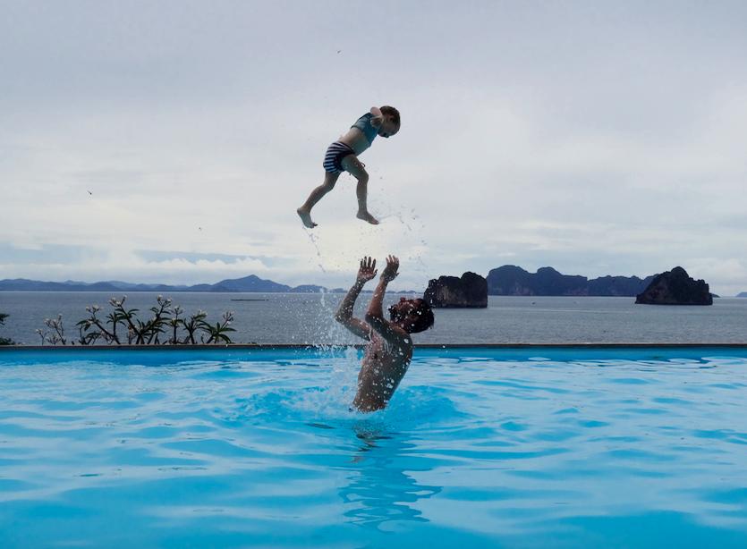 La Thaïlande avec un bébé