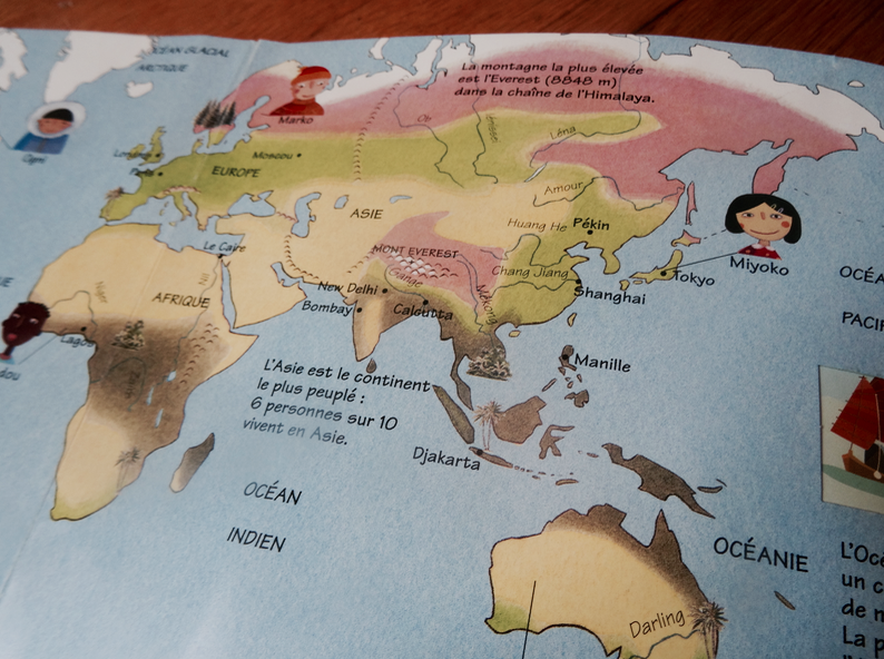 Découvrir le monde avec kididoc