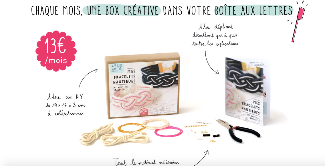 Coup de coeur Mes kits make it !