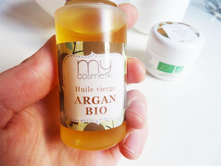 Le baume capillaire huile de coco et d'argant et beurre de karité !
