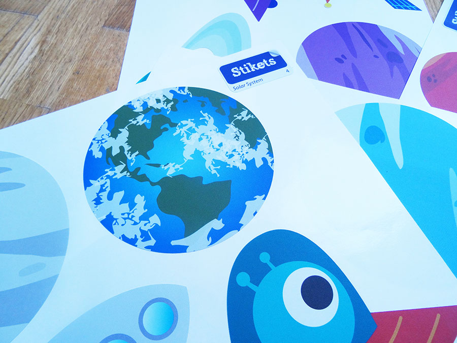 Stickers enfants de chez Stikets pour la jolie chambre de Mister A  Stickers enfants de chez Stikets pour la jolie chambre de Mister A