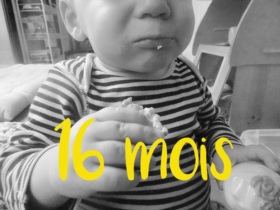 Toi, toi, toi tu as 16 mois !