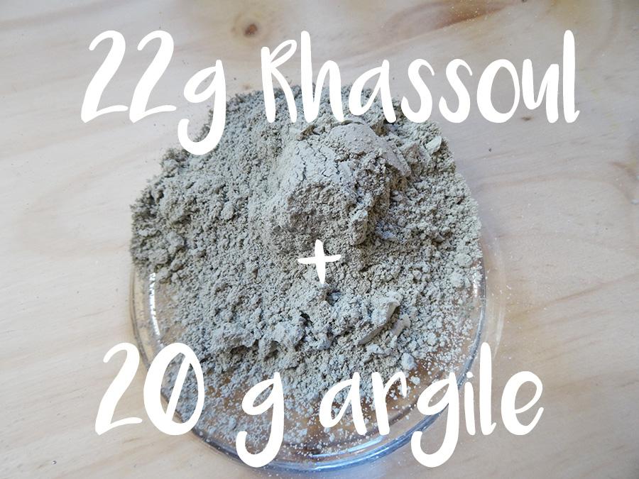 Recette naturelle et bio masque rhassoul et huile d'argan  Recette naturelle et bio masque rhassoul et huile d'argan  Recette naturelle et bio masque rhassoul et huile d'argan