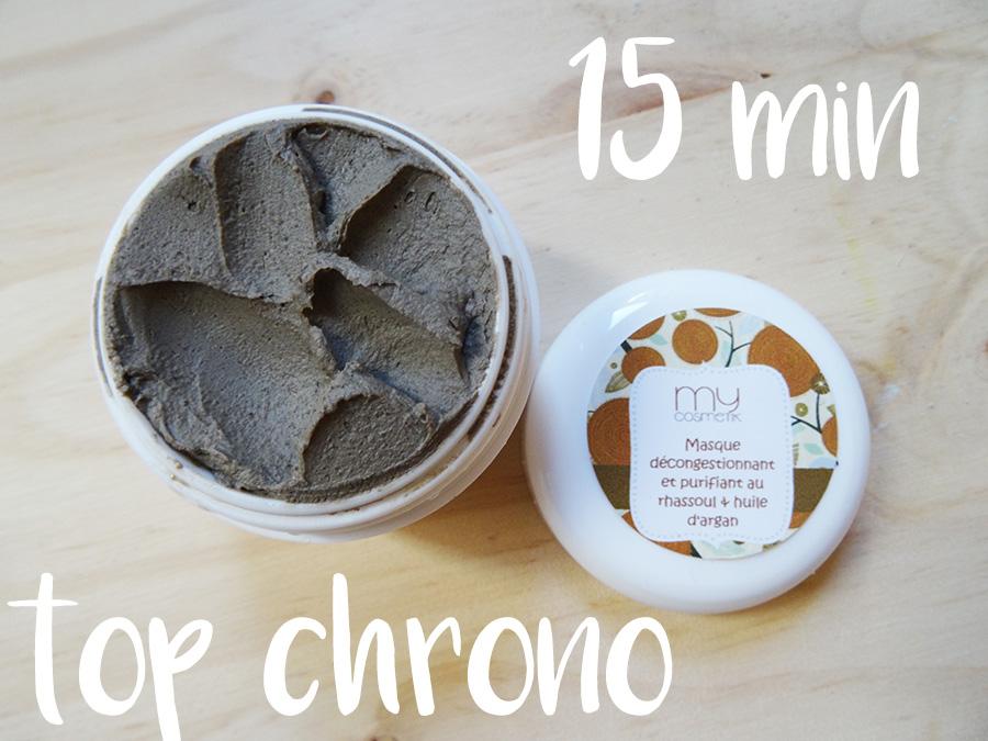 Recette naturelle et bio masque rhassoul et huile d'argan