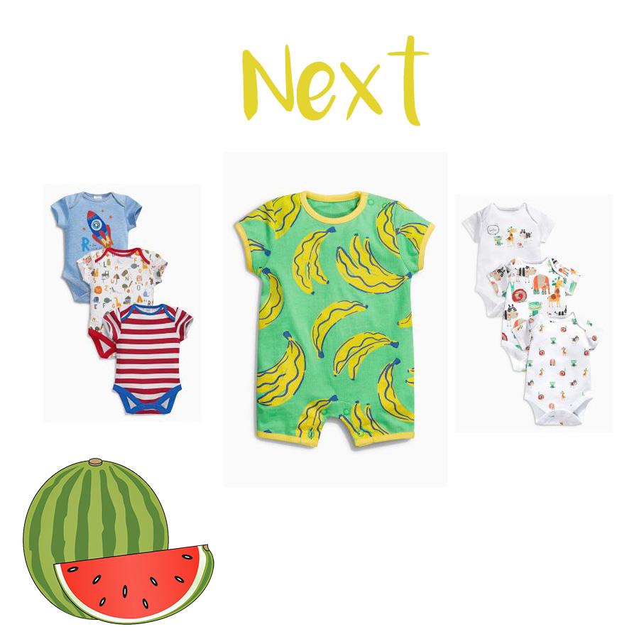 Petits vêtements d'été