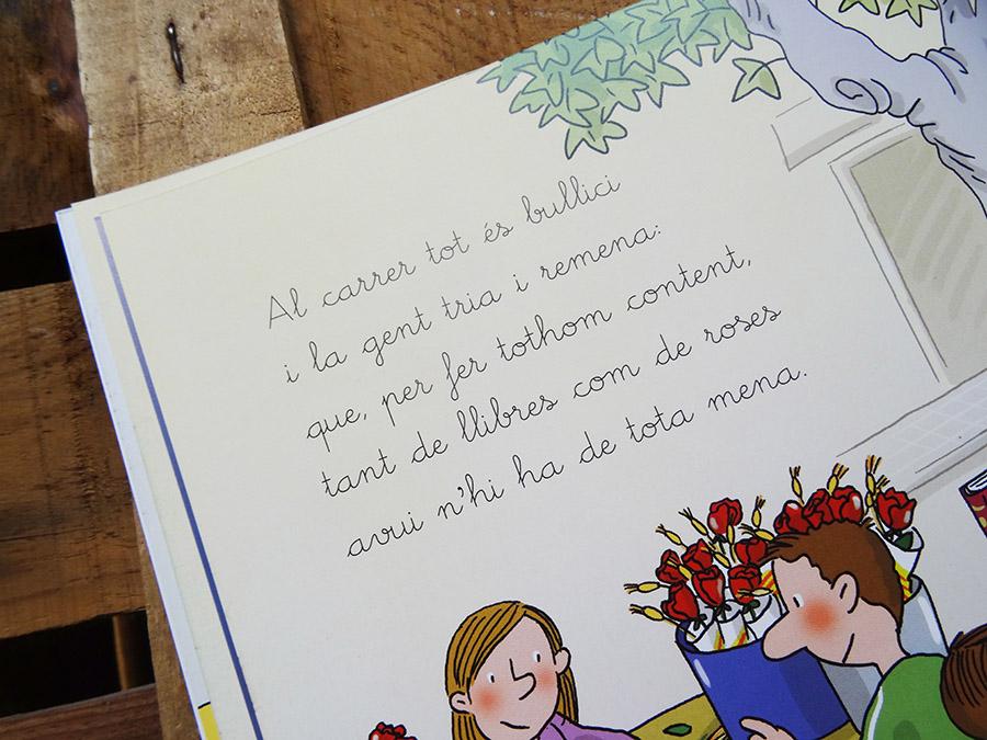 La sant Jordi et découverte des livres tête de mule & cie  La sant Jordi et découverte des livres tête de mule & cie