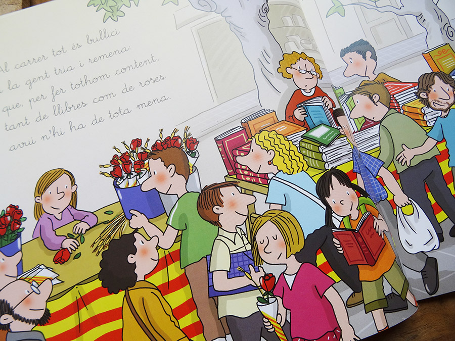 La sant Jordi et découverte des livres tête de mule & cie  La sant Jordi et découverte des livres tête de mule & cie  La sant Jordi et découverte des livres tête de mule & cie
