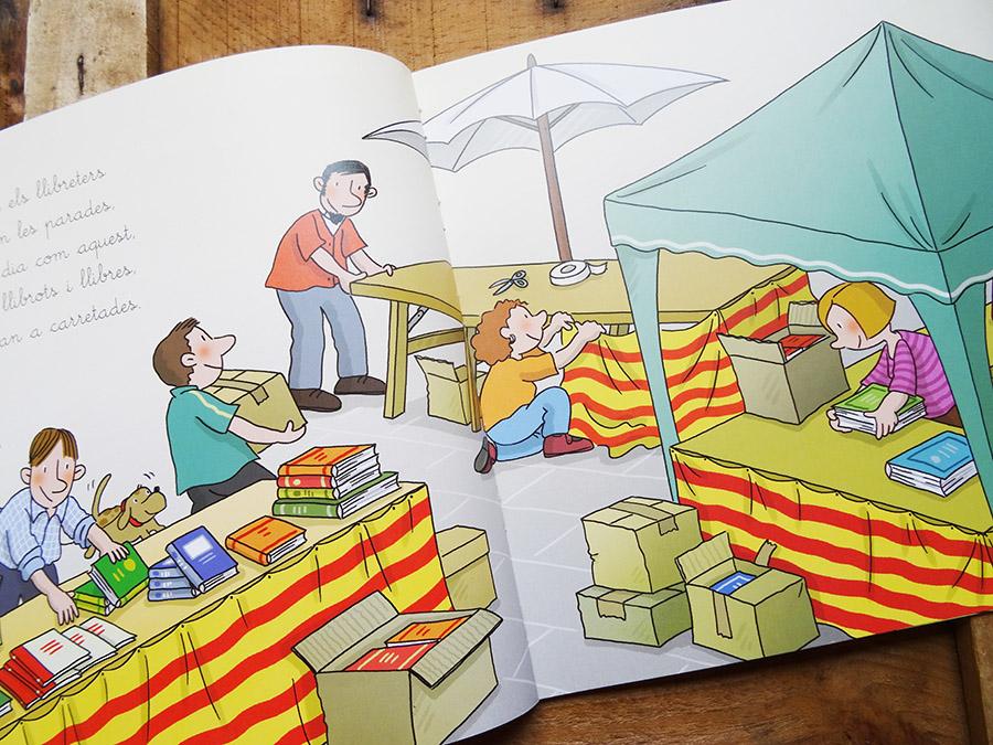 La sant Jordi et découverte des livres tête de mule & cie