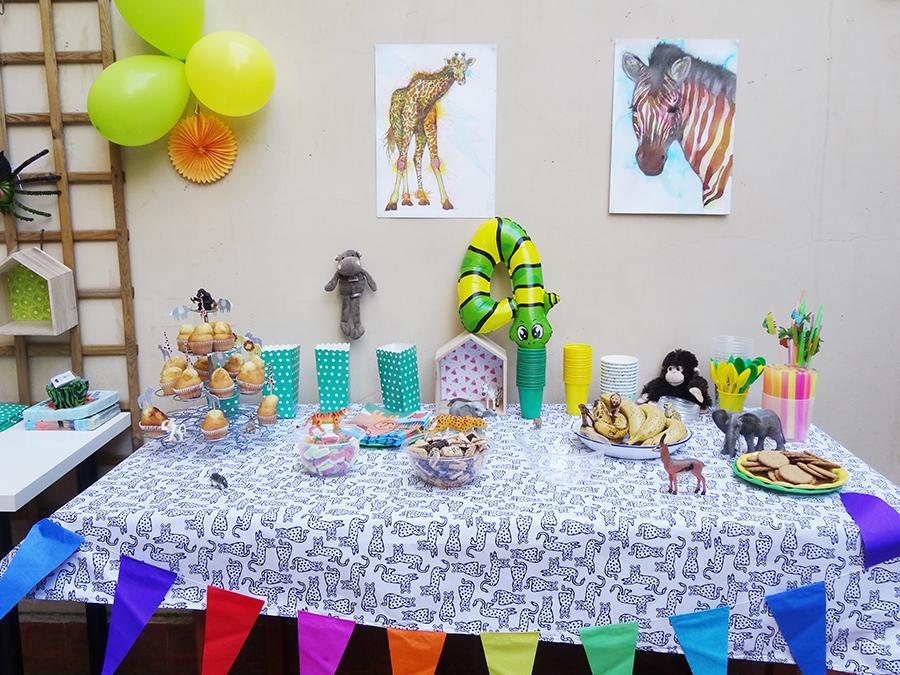 La jungle party des 4 ans !  La jungle party des 4 ans !  La jungle party des 4 ans !
