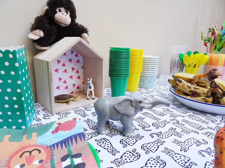 La jungle party des 4 ans !