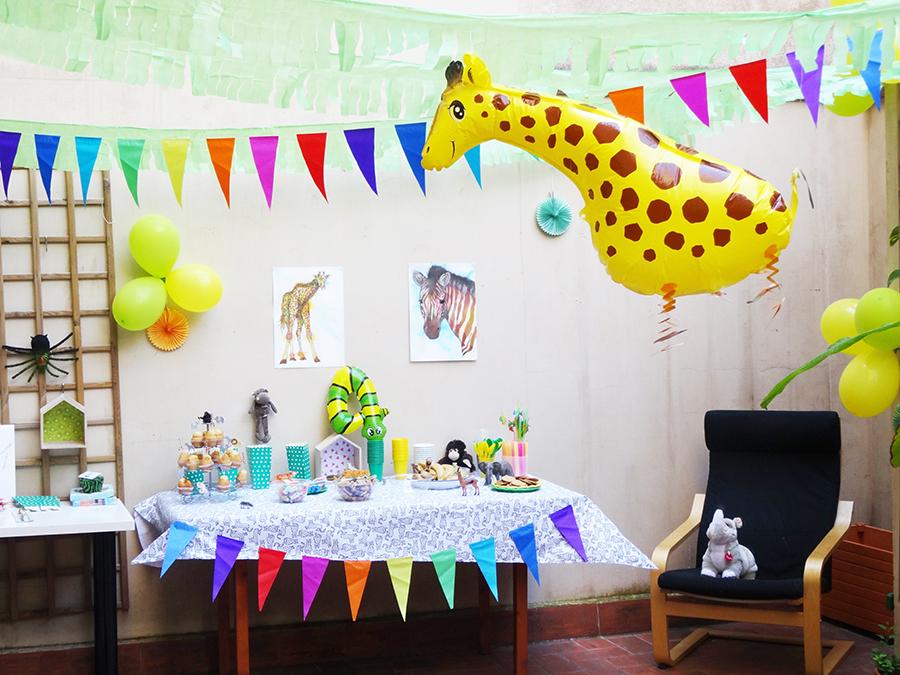 La jungle party des 4 ans !  La jungle party des 4 ans !