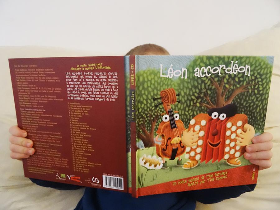 Le conte musical Léon l'accordéon (concours)  Le conte musical Léon l'accordéon (concours)  Le conte musical Léon l'accordéon (concours)