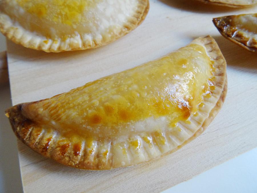 Empanadas sucrées avec le cuiseur vapeur mixeur Avent