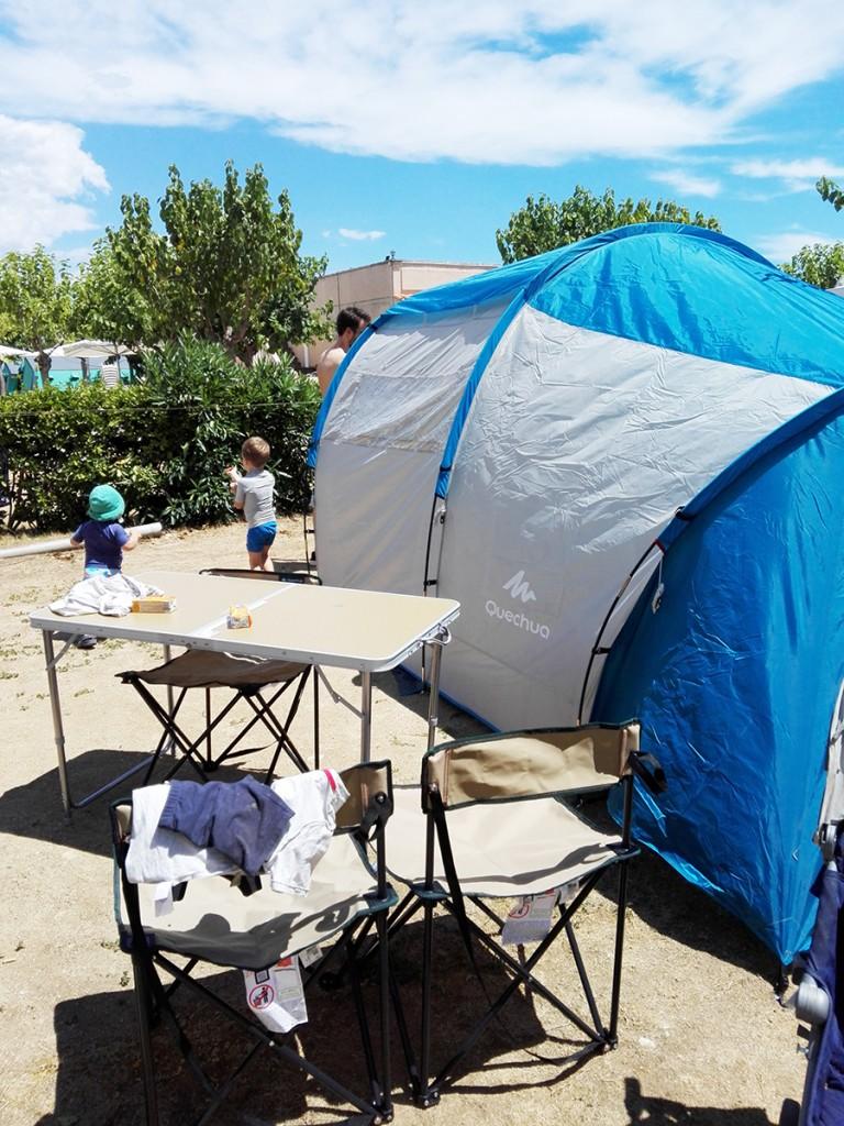 Mes indispensables du camping avec les enfants