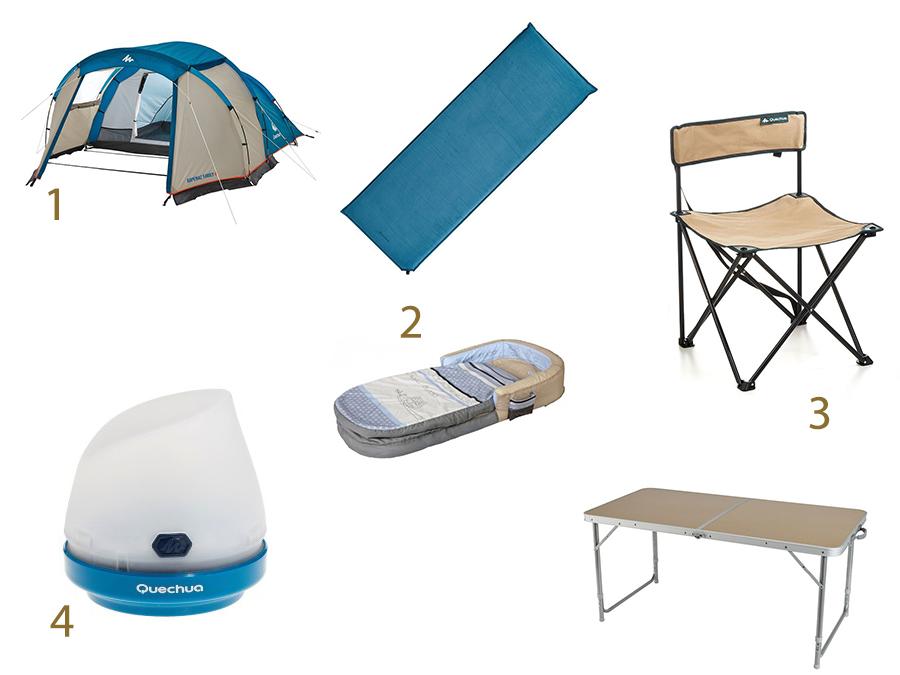Mes indispensables du camping avec les enfants  Mes indispensables du camping avec les enfants