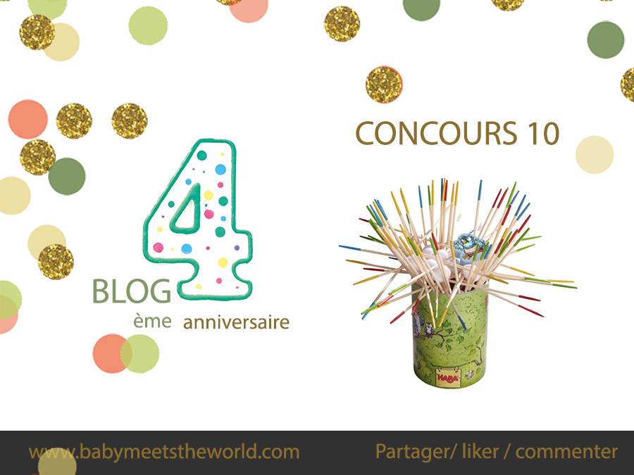 4 ans du blog avec Haba  4 ans du blog avec Haba  4 ans du blog avec Haba