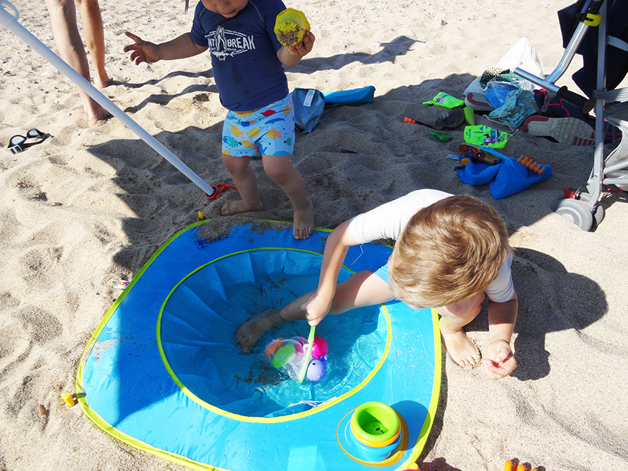La piscine de plage Ludi