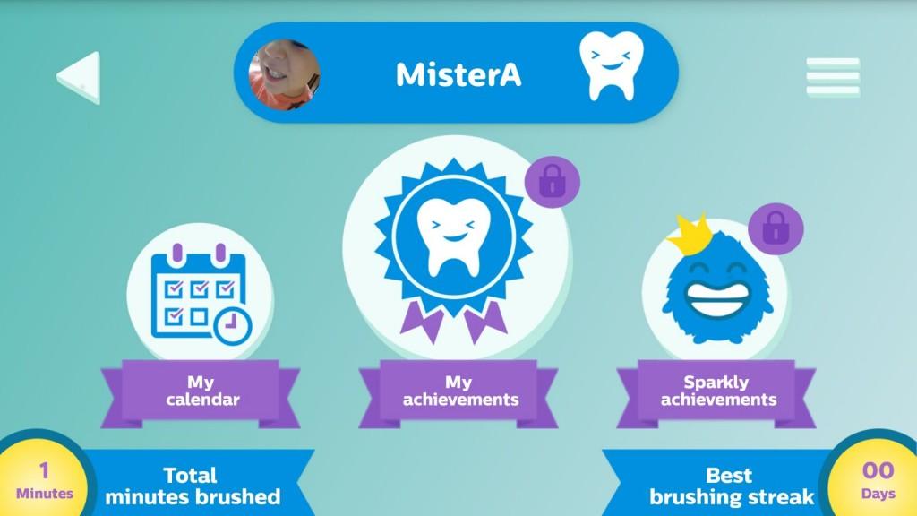 La brosse à dent sonicare for kids de Mister A