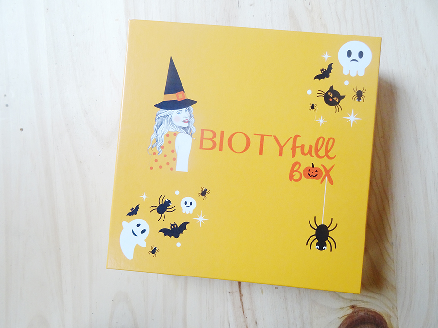 La biotifull box d'Octobre  La biotifull box d'Octobre