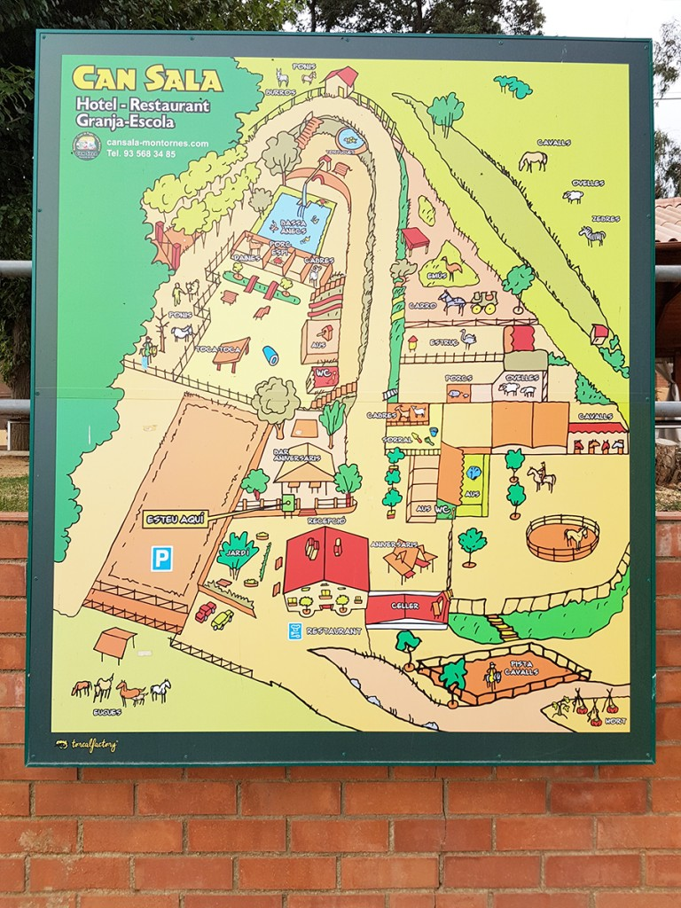 Activités près de Barcelone : La ferme de Can sala  Activités près de Barcelone : La ferme de Can sala