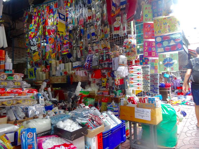 3 ème jour à Bangkok : China Town et tuk tuk  3 ème jour à Bangkok : China Town et tuk tuk