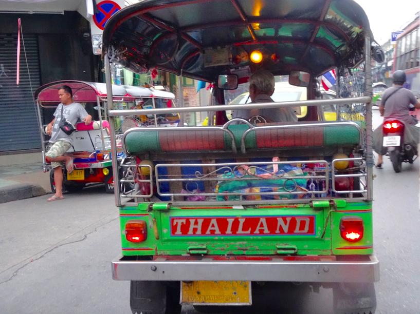 3 ème jour à Bangkok : China Town et tuk tuk
