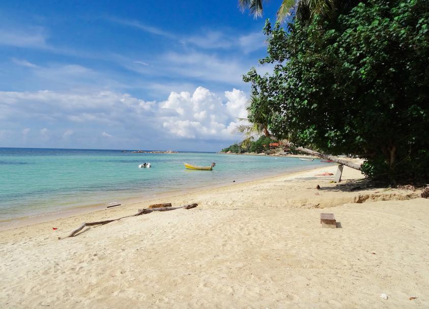 Seetanu bungalows, Malibu beach, à dos d'éléphants à Koh Phangan  Seetanu bungalows, Malibu beach, à dos d'éléphants à Koh Phangan