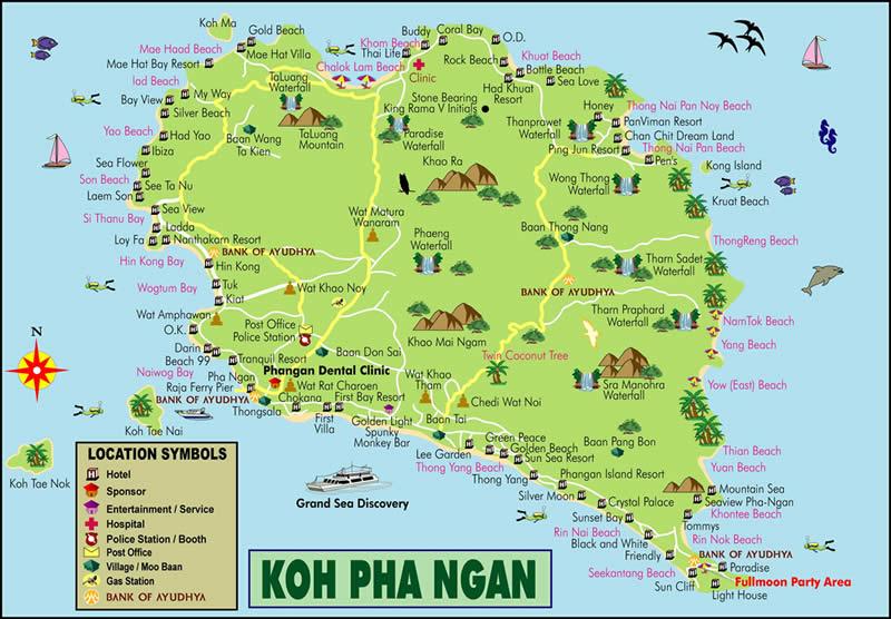 À la découverte de Koh Phangan  À la découverte de Koh Phangan  À la découverte de Koh Phangan