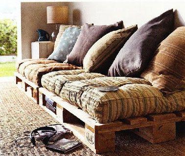 Fabriquer son canapé en palette