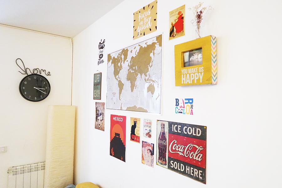 Mon mur de cadres et posters  Mon mur de cadres et posters