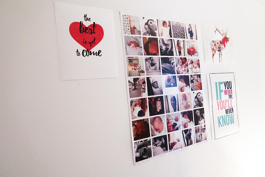 Mon mur de cadres et posters