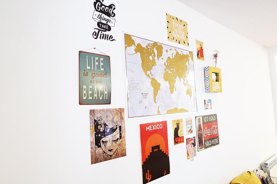 Mon mur de cadres et posters  Mon mur de cadres et posters  Mon mur de cadres et posters