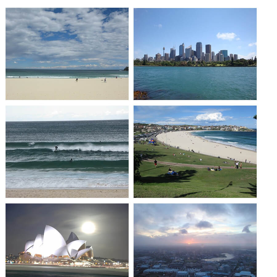 L'Australie en sac à dos