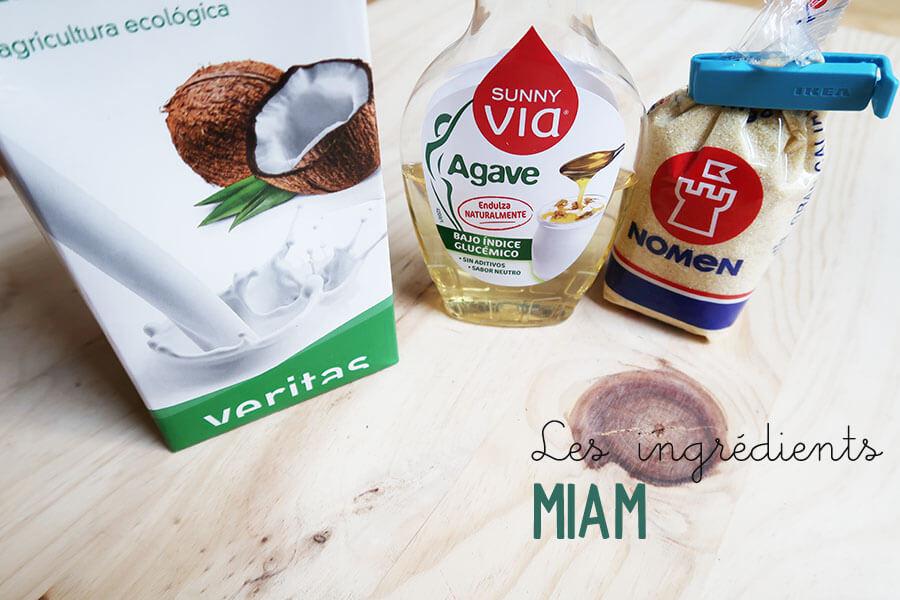 La recette mangue coco semoule  La recette mangue coco semoule