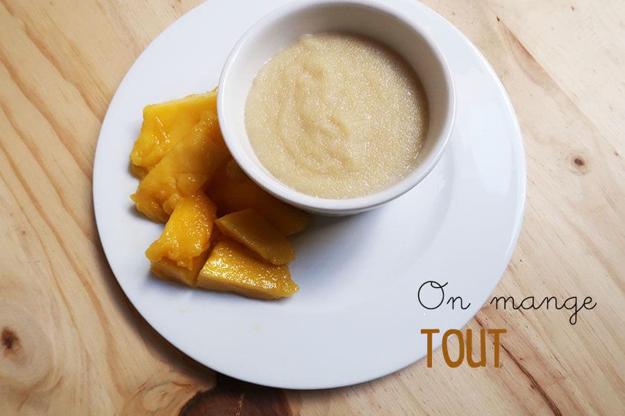 La recette mangue coco semoule